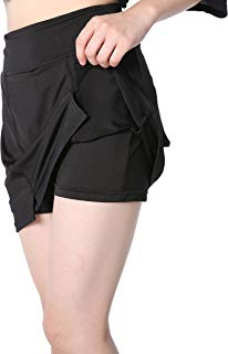EAST HONG Women's Golf Skort Tennis Running Fitness Skorts