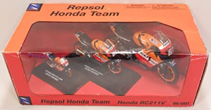 NEW RAY 42535 REPSOL HONDA TEAM RC211V NICKY HAYDEN 2006 MOTORCYCLE SET DIE-CAST 3 BIKES