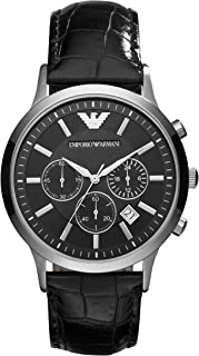 Emporio Armani Men's 3-Hand Classic Watch with Quartz Movement