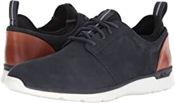 Navy Waterproof Tumbled Nubuck