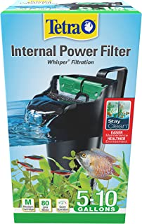 Tetra Whisper Internal Filter 3 to 10 Gallons, for Aquariums, in-Tank Filtration with Air..