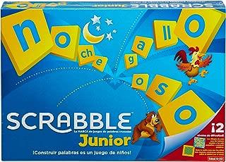 Mattel Games - Scrabble Junior, Juegos de Mesa para Niños (Mattel Y9669)