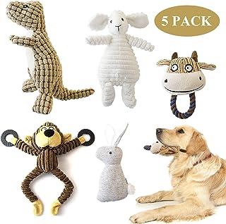 犬おもちゃ 噛むおもちゃ 犬噛むおもちゃ 音の出るおもちゃ 犬用噛むおもちゃ 犬ペットおもちゃ 5個セット ストレス発散 ムズムズ解消 清潔 歯磨き 丈夫 耐久性 小型犬・中型犬・大型犬に対応