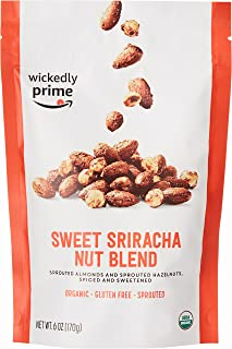 Wickedly Prime Organic Sprouted Nut Blend, Sweet Sriracha, 6 Ounce