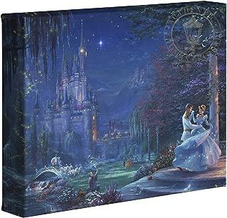 Thomas Kinkade Studios Cinderella Dancing in the Starlight 8 x 10 Gallery Wrapped Canvas