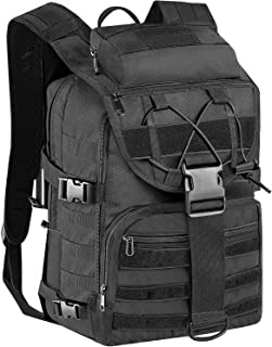 KOMEX Military Tactical Assault Backpack Army Assault Pack 3-Day Expandable Bag Molle Rucksack for for Hiking Camping Trekking Hunting Travel