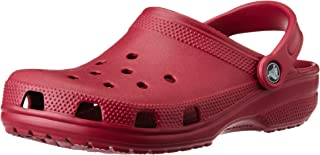 crocs Unisex Classic Clog,Pomegranate,5 M US Mens / 7 M US Womens