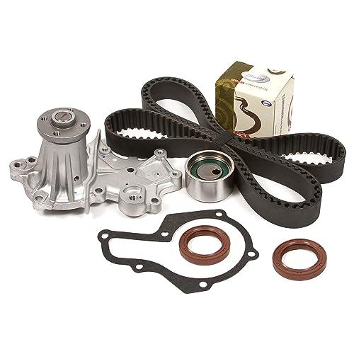 Timing Belt Kit /& Water Pump Set for 1989-95 GEO Tracker /& Suzuki Sidekick 1.6L SOHC 8-Valve G16KC Brand New TSW164SI 95 Round Teeth