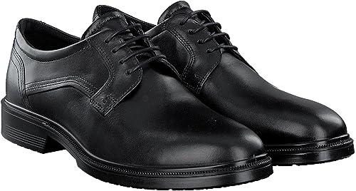 Ecco Men's Lisbon Plain Toe Oxford, noir, 47 EU 13-13.5 M US