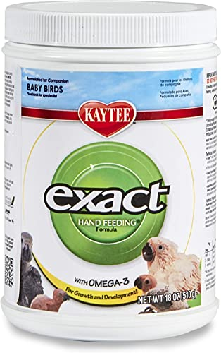 Kaytee Exact Hand Feeding for Baby Bird Food (18oz)