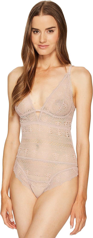 ELSE Womens Ivy Deep Decolette Soft Cup Bodysuit