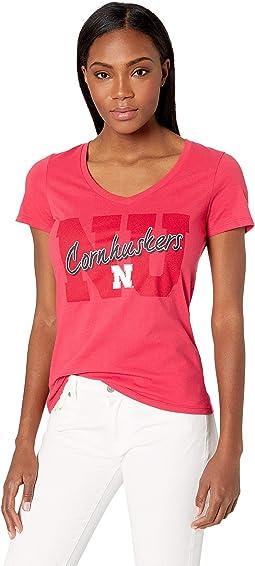 Nebraska Cornhuskers University V-Neck Tee