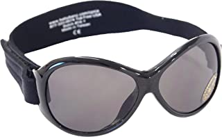 Banz Baby Retro Banz Sunglasses, Black