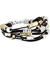Robert Lee Morris - Leather and Metal Bracelet