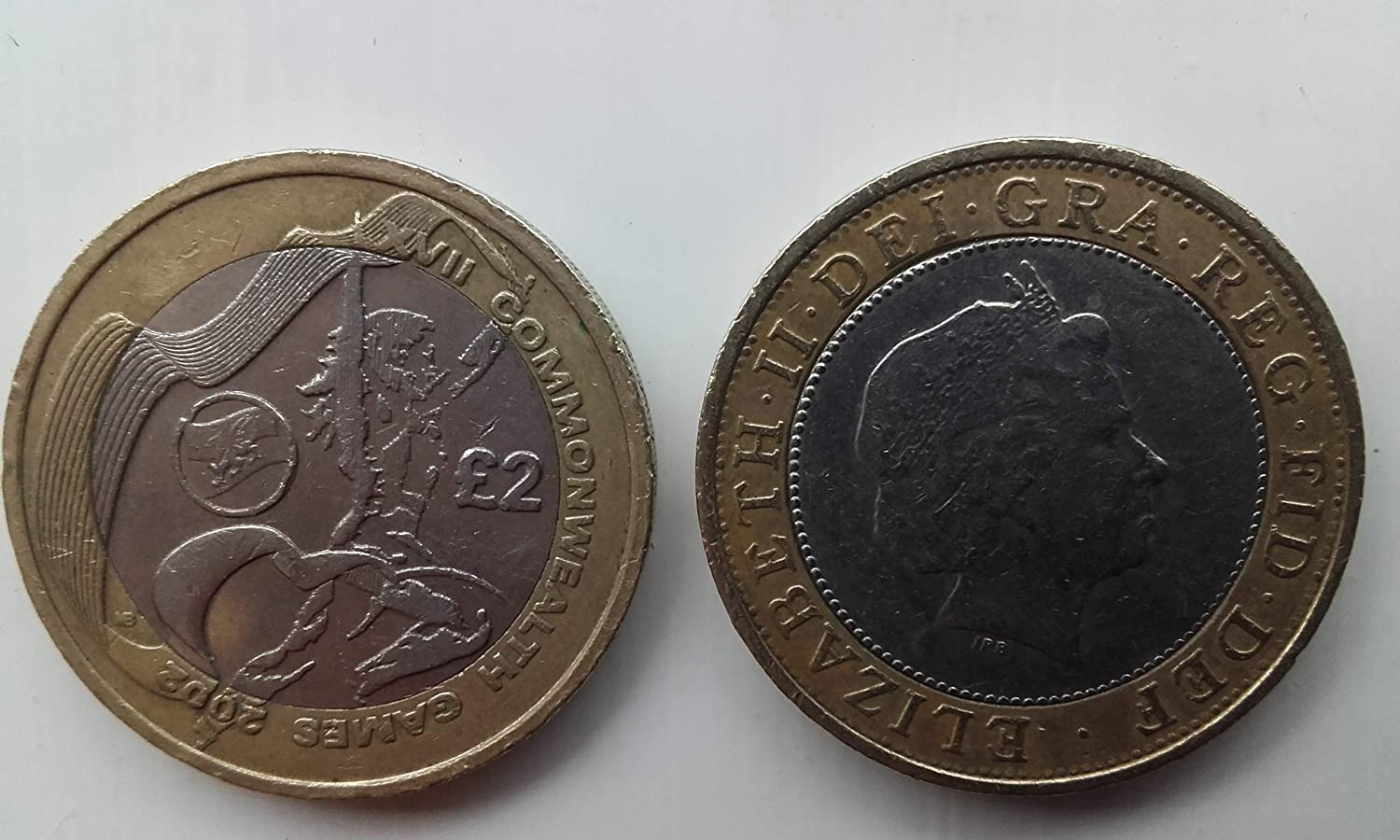 Commonwealth Games 2002 £2 coin ONE COIN   England OR Wales OR Scotland