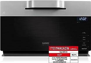 *CASO IMCG25 Design Mikrowelle mit Invertertechnologie im WAVE Design,  Inverter Mikrowelle 900 Watt / 25 L Volumen*