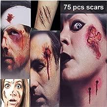 XYZX Halloween Zombie Make-up Kit Tattoos, 75 Stuk...
