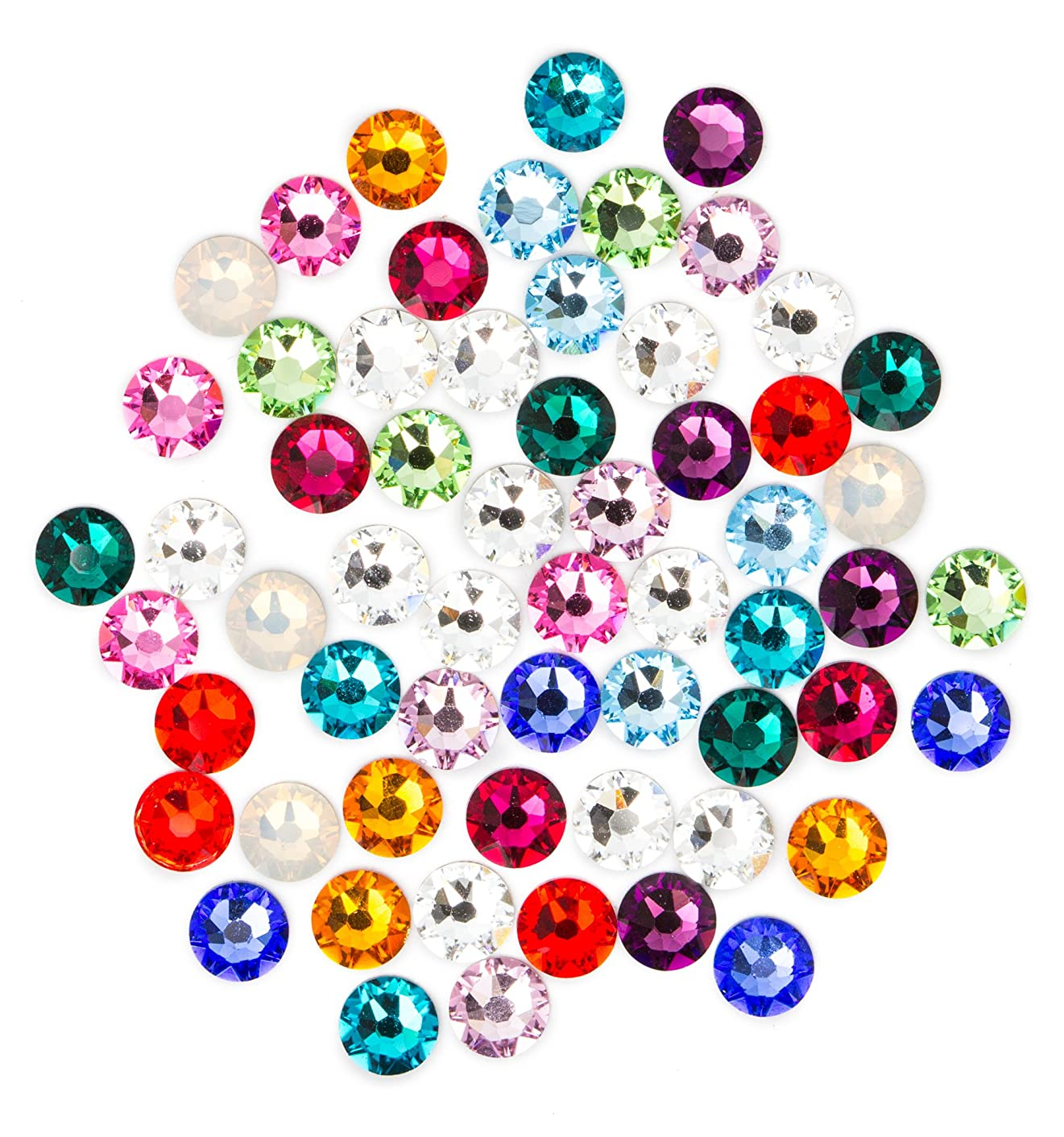Swarovski - Create Your Style Flatback Mix Birthstne 3 packages of 60 Piece (180 Total Crystals)