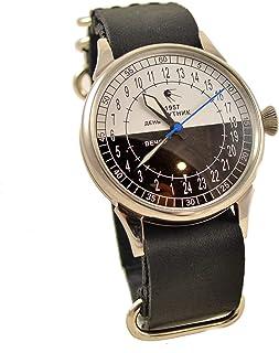 Military Sputnik Mens Wrist Watch 24 Hours Day & Night Vintage Mens Watch Original