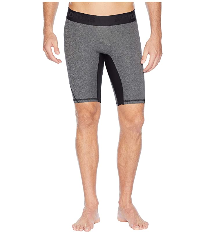 adidas Alphaskin Sport Tight Shorts (Black Heather) Men