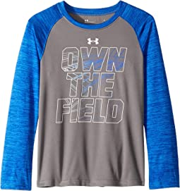 Own The Field Raglan (Little Kids/Big Kids)