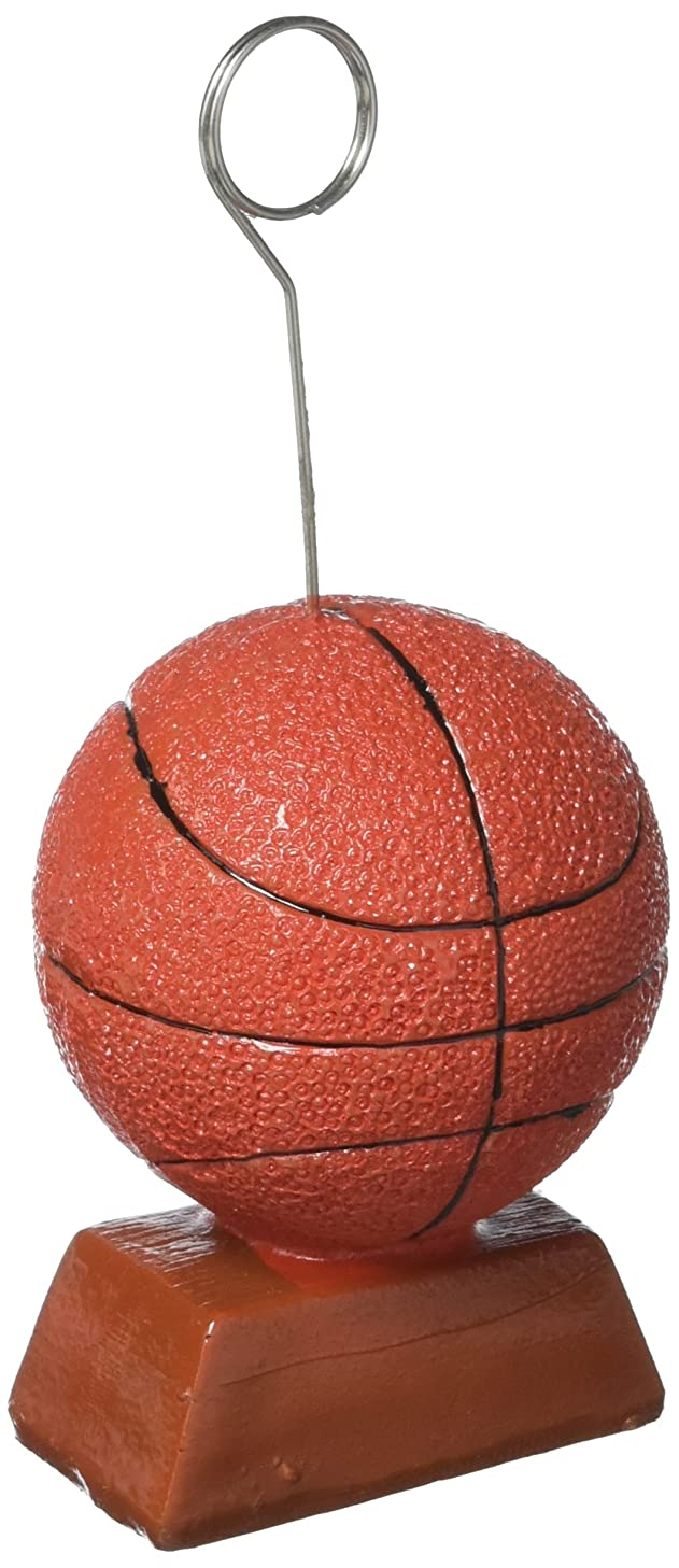 Basketball Photo/Balloon Holder Party Accessory (1 count)