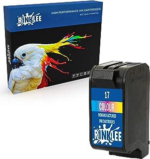 RINKLEE Wiederaufbereitete Tintenpatrone für HP 17 XL kompatibel mit HP Deskjet 816c 825c 825cvr 825cxi 827 840c 841c 842c 843c 845c 845cse 845cvr 845cxi 848c | Dreifarbig