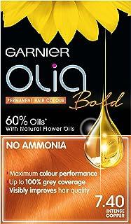 Garnier Olia Intense Copper Permanent Hair Dye Number 7.40