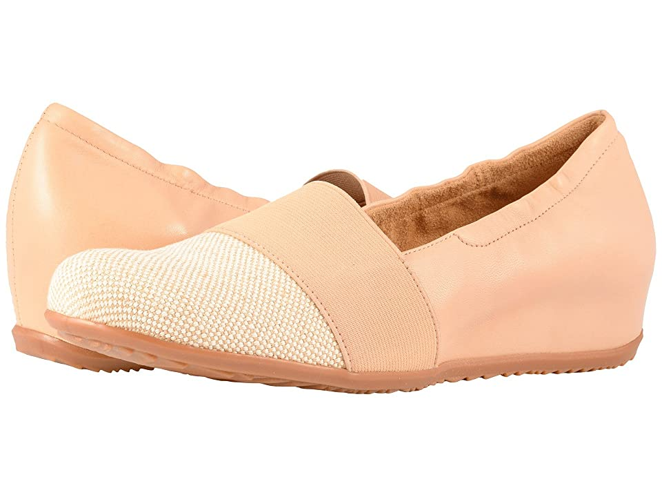 SoftWalk Wonder (Natural/Nude Linen/Leather) Women