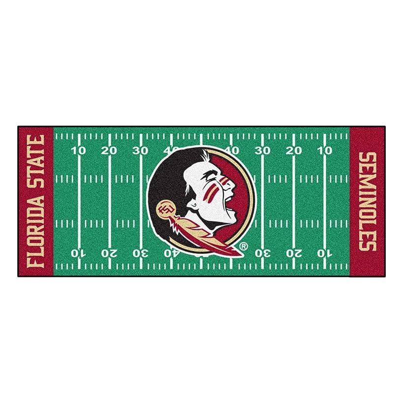 FANMATS NCAA Florida State University Seminoles Nylon Face Football Field Runner