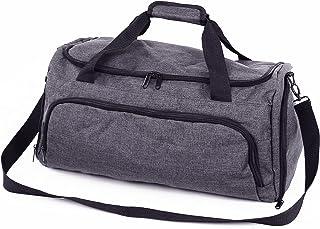 GSN Global Sports Netwrok Sporttasche mit 6 Fächern & praktischem Schuhfach - Reisetasche für Damen & Herren (53x25x26cm) ...
