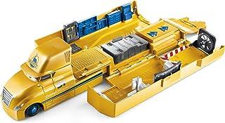 Disney Cars Camión Cruz Ramírez, transportador de coches de juguete (Mattel FLK11)