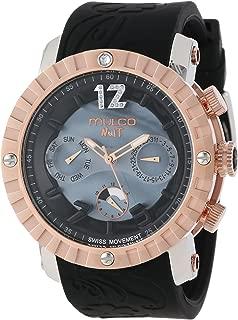 MULCO Unisex MW5-1876-023 Analog Chronograph Swiss Watch