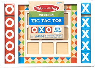 Melissa and Doug MD30384 Wooden Tic-Tac-Toe Board Game
