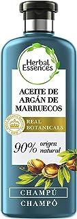 Herbal Essences bio:renew Champú Reparación Aceite de Argán de Marruecos 400ml con ph neutro e ingredientes naturales