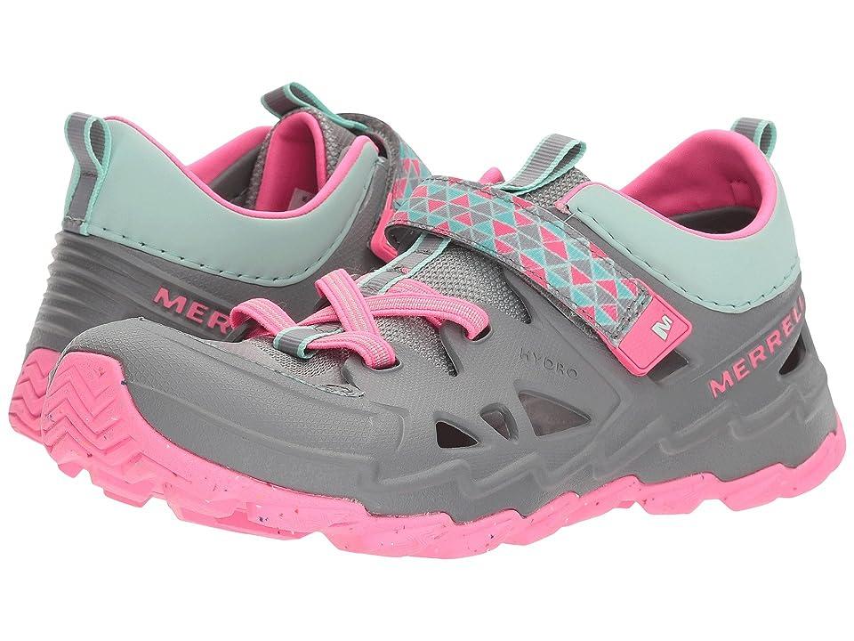 Merrell Kids Hydro 2.0 (Big Kid) (Grey/Pjnk) Girls Shoes