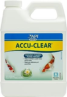PondCare POND ACCU-CLEAR Pond Water Clarifier 32-Ounce Bottle (142G) , Black
