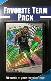 Boston Celtics Factory Sealed 20 Card Favorite Team Set Pack Featuring 2018 2019 Revolution Series Cards of Kyrie Irving, Jaylen Brown, Jayson Tatum and Gordon Hayward Plus 16 Other Cards