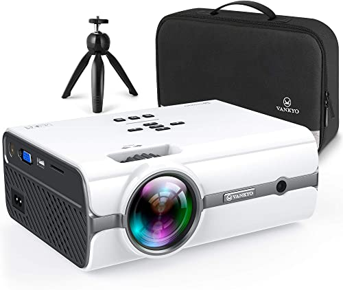 VANKYO Leisure 410 [2020 Upgrade] Mini Projector with 1080P Supported, Portable Projector compatiable with iOS/Androi...