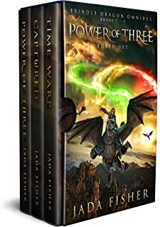 Power of Three Boxed Set: The Brindle Dragon, Books 7-9 (Brindle Dragon Omnibus series Book 3)
