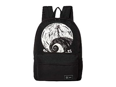 Vans Vans x The Nightmare Before Christmas Backpack Collection ((Disney) Sketchy Jack/Nightmare) Backpack Bags