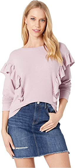 Primrose Ruffle Knit Top