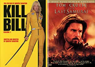 Become the Sword. You are the Sword. 2-Movie Action Bundle - Kill Bill Volume 1 & The Last Samurai (2-Disc Full Screen Edition)
