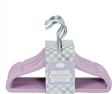 Closet Doodles C134 Purple Baby Girl Closet Dividers Set of 6 Fits 1.25inch Rod