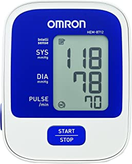 Omron Blood Pressure Monitor - Basic (Model HEM-8712-AP)