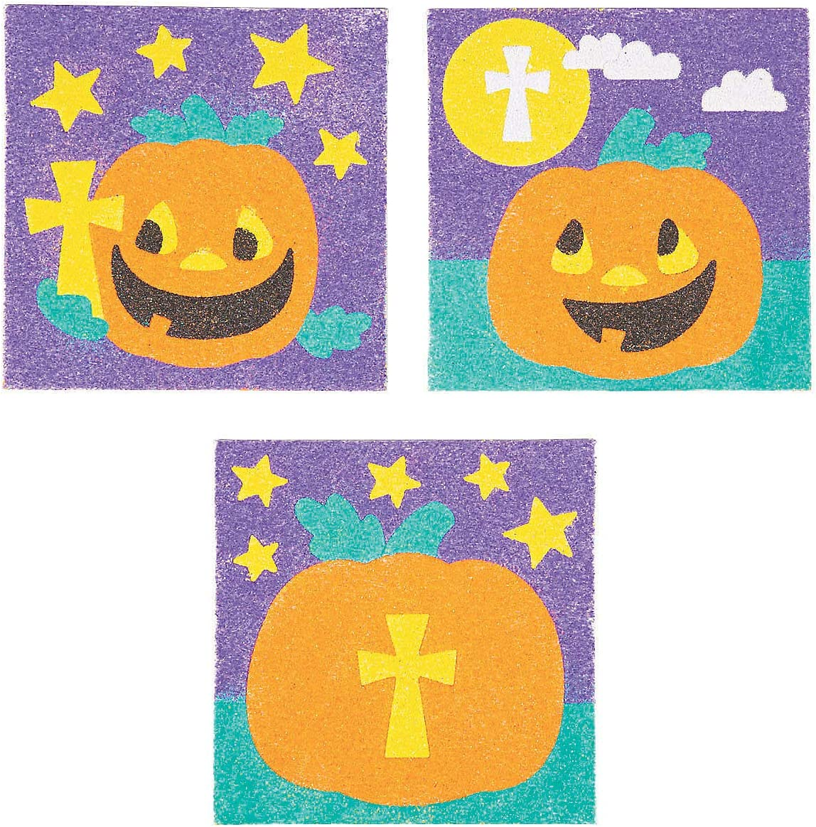 Direct stock discount Christian Pumpkin Sand Art - Crafts Activi Spring new work one after another and Home for Kids Fun