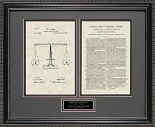 scales of justice patent