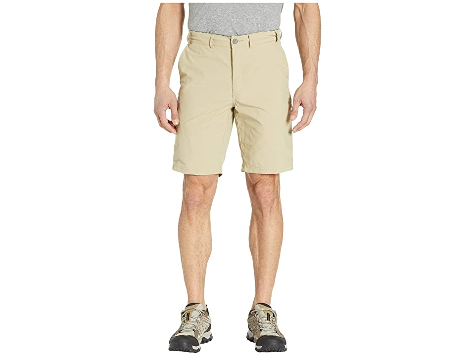 ExOfficio Sol Cool Nomad 10 Shorts (Light Khaki) Men