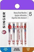 Singer 04801 Agujas universales para máquina de Coser, Resistentes, 5 Unidades