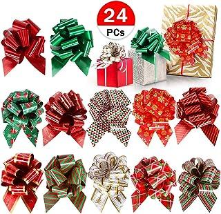 Ruikey Cintas de arpillera y Encaje Cintas Tela Navidad Cintas Decorado para DIY /árbol de Navidad decoraci/ón del Partido de la Boda Regalo(Amarillo)